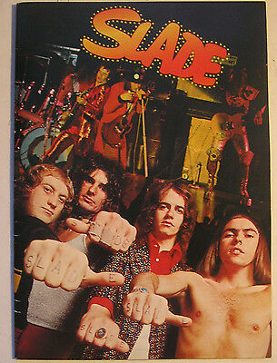 SLADE - 1974   29 PAGE TOUR BOOKLET Japan tour In Ex+ condition