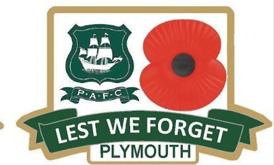 Plymouth Argyle  Limited Edition Green  Coloured Badge