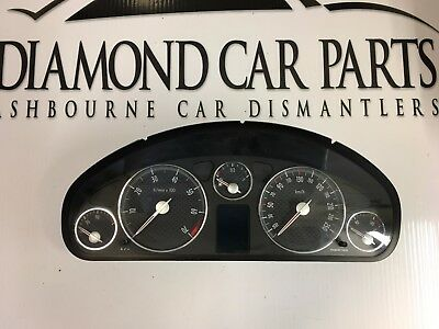 2008 Peugeot 407 Coupe Instrument Cluster 9654814980