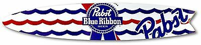 Pabst Blue Ribbon Surfboard - Fishtail Style - 4' footer