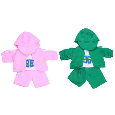 2 Sets 4pcs Doll Clothes Outfit for 18'' American Girl Our Generation Dolls