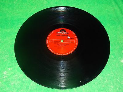 "JAMES BROWN : Get up, I feel being a sex machine - Orig 1972 UK 12"" single EX/NM"