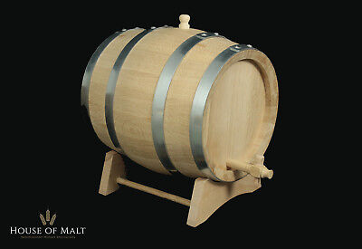 Fresh Toasted Oak Whisky Barrel, Mature Whiskey at Home - Gift 1L, 3L, 5L 10L+