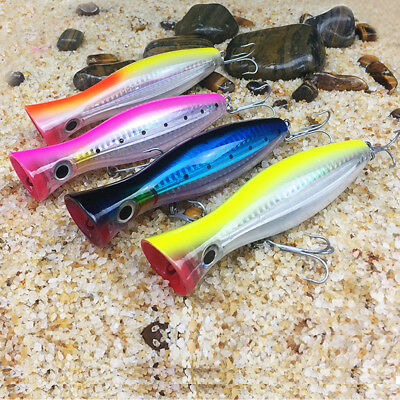 9.4g//10cm fishing lures baits floating ba crankbaits popper hard lures hook 4# X