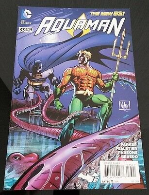 aquaman n°33/36 vo - the new 52 - variant covers