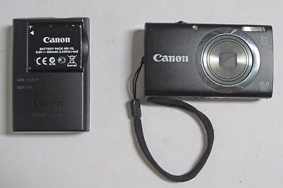 Canon PowerShot A2300 16.0 MP Digital Camera with 5x Optical Zoom (Black) - UD