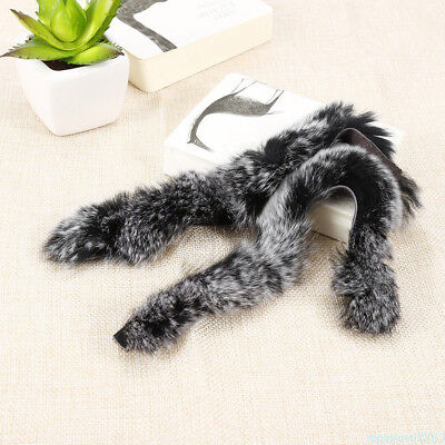 2Pcs Rabbit Fur Balls Bow String Silencers recurve Longbow Hunting Stabilizer FB