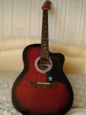 Lindo 6 string cutaway acoustic guitar used
