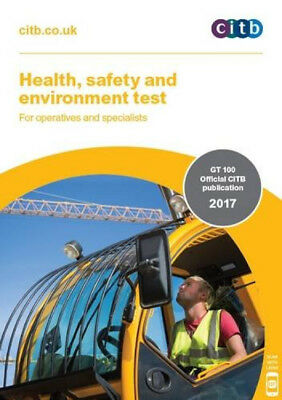 BRAND NEW 2017 CSCS CARD TEST BOOK for Operatives and Specialists CITB GT 100/17
