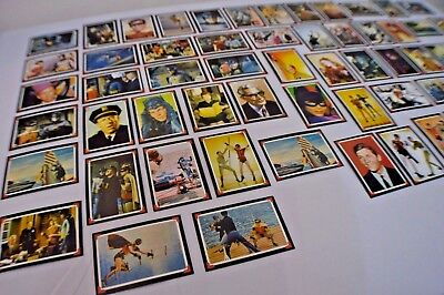 Very RARE Vintage 1966 BATMAN TRADING COMPLETE 60 CARDS SET