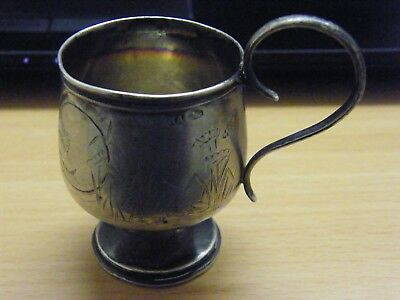 Russian Silver Cup From A Good  Silver Collection Find