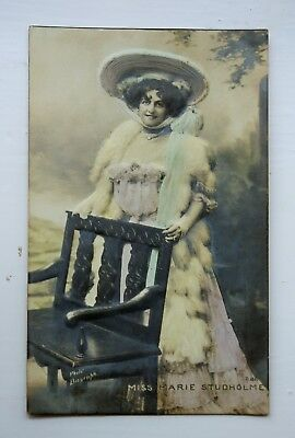 1905 Embossed Postcard of Marie Studholme - Edwardian Actress VGC