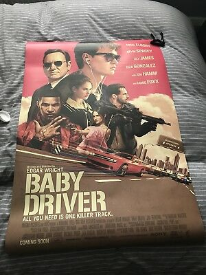Official Baby Driver Cinema Poster