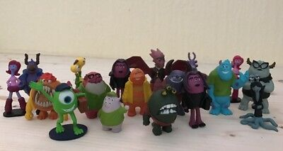 Bundle Job Lot Disney Monsters Inc University Figure Play Set Toy Sully Mike