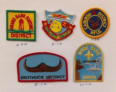 CANADA - 6 INTERESTING VINTAGE SCOUT BADGES -  #16 + check out our site