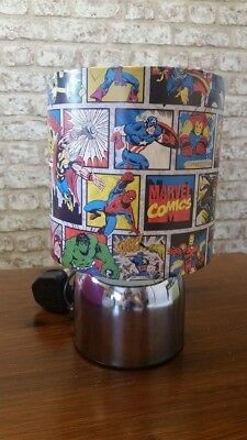 New Marvel avengers super hero touch lamp handcrafted