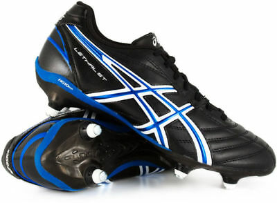 Asics Lethal St Stud Sg Soft Ground Mens Rugby Football Boots Uk 9 Us 10