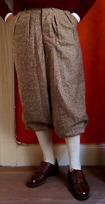 "Superbly hand-tailored 1930's style Vintage Plus Fours (Knicker Pants) 31"" mint"