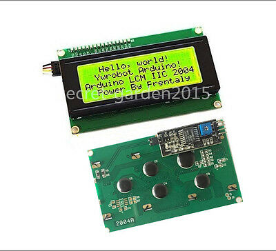 Yellow 2004 20X4  IIC I2C TWI  Character LCD Display Module For Arduino Hot ZY