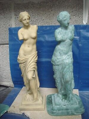 "latex rubber mould mold moulds of a tall venus 15.5"" height"