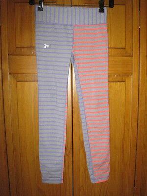 Under Armour All Season Gear pants girls YMD M gray running fitness gym