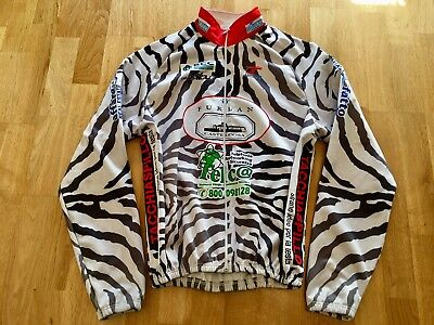 HICARI Team Furlan THERMO Jacke Windtex Radjacke Zebra Optik Gr. XXL 2XL