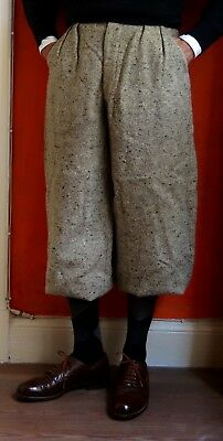 All Original 1930's Vintage Tweed Plus Fours (Knicker Pants) 29""