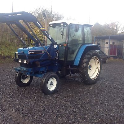 Ford New Holland SLE 6640 Tractor