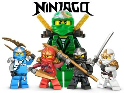 NINJAGO Mini Figures Fit Lego