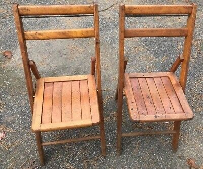 Jackson Antique Folding Chairs made in Boston Mass.USA