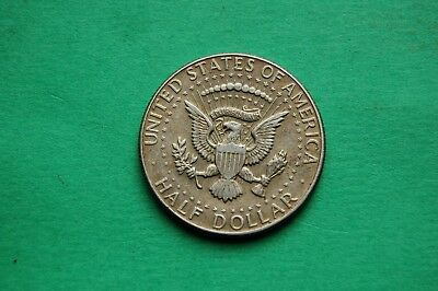 1967 Half (1/2) Dollar Kennedy Type United States of America Silver Coin