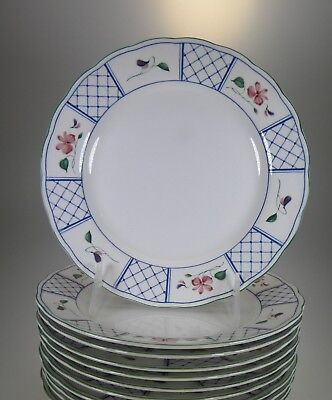 Nikko Marseilles Salad Plates Set of 9