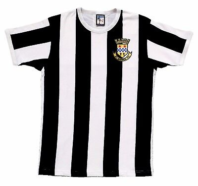St Mirren 1944-48 Football T Shirt Sizes S-XXL Embroidered Logo