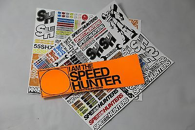 Speedhunters *bundle 16* Rc Double Sticker Pack + Bumper* Official Merchandise