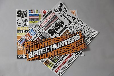 Speedhunters *bundle 21* Rc Double Sticker Pack + Bumper* Official Merchandise