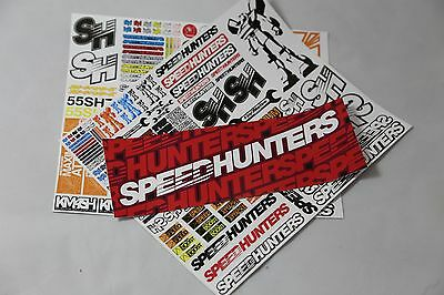 Speedhunters *bundle 13* Rc Double Sticker Pack + Bumper* Official Merchandise