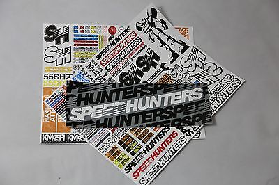 Speedhunters *bundle 18* Rc Double Sticker Pack + Bumper* Official Merchandise