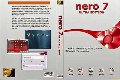 Nero Burning ROM 7 Ultra  CD DVD Burn Quicker & Trusted | Windows Version