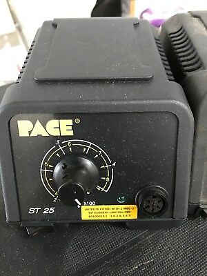 Pace ST 25 ST-25 Soldering power station - New  - Black connection