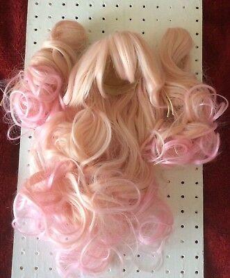 Coolcat Wig For Pullip Or Bjd 8-9 Inch