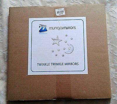 Mungai Mirrors Twinkle Twinkle Set Acrylic Mirrors-new- RRP £30