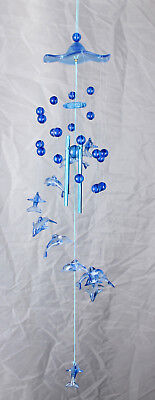 Dolphin Plastic Wind Chime 622