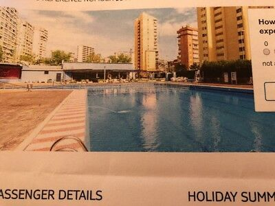 Full Board Holiday To Spain 16th-23rd December Fly From Cardiff For 2 Adults