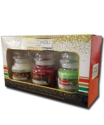 Yankee Candle Christmas Gift Pack  - 3 Small Jar Gift Set
