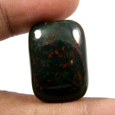 23.70 cts 100% Natural Bloodstone Cabochon Beautiful Octagon Gemstone Jewelry
