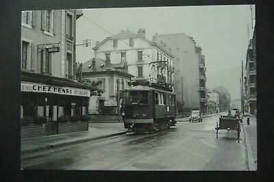 -   Carte  Postale  Tramways  Annemasse  1956   Photo J.bazin   Tbe  -