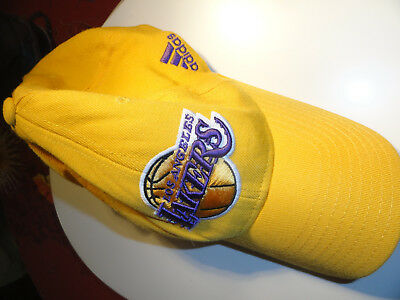 Casquette grande taille Lakers basket