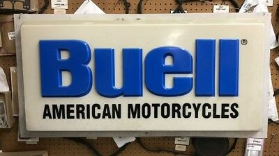 Buell dealer sign
