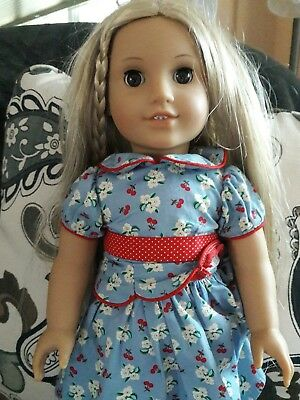 """American Girl Doll Julie 18"""" excellent condition"""