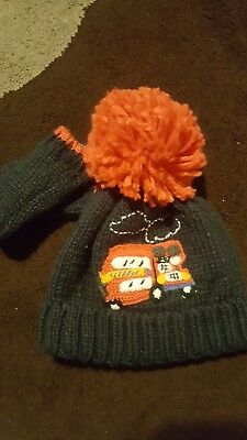 Boys Next London bus hat/gloove set age 1/2yrs BNWOT